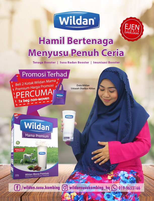 Wildan Organic Goat Milk Powder Formula Malaysia | Wildan Lab